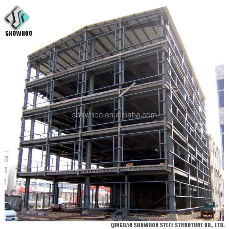 Prefabricated Warehouse Steel Structure Industrial Building Multi-storey