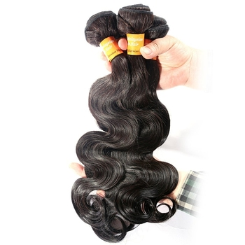 Chinese factory wholesale human hair bundles hot sale body wave natural brazilian hair extension
