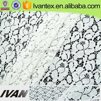 Shaoxing Factory Wholesale Cotton Nlyon Lace , PFP Fabric
