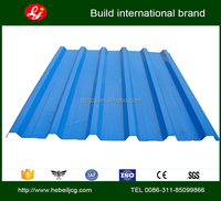 color galvanized zinc coated corrugated steel sheet prepainted corrugated gi color roofing sheets YX12-65-850