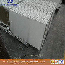 Yasta Best sell white sparkle quartz composite floor porcelain tile