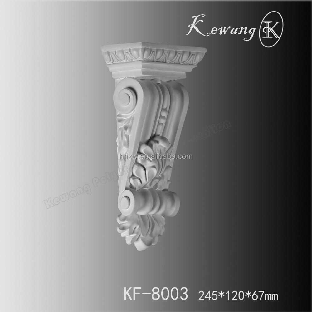KF-8003 High quality classical PU Corbels Pillar Instead of plaster and wood materials
