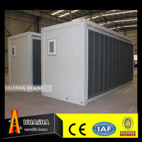 Modern style expandable living quarters container folding house