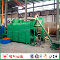 rice husk carbon furnace/sawdust charring kiln
