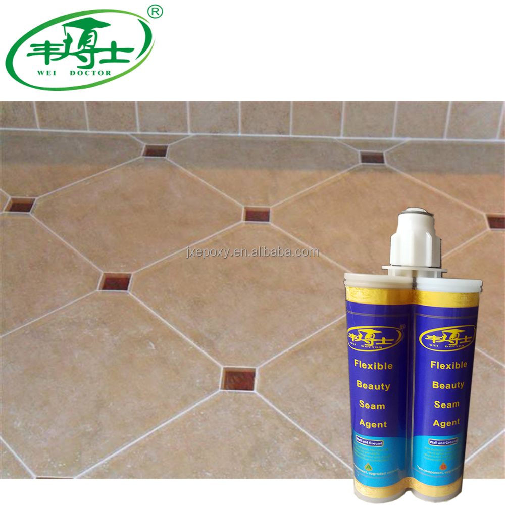Low Price ceramic tile sealant Epoxy resin glue two components ceramic tile adhesives