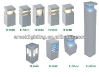 Manufacture high quality Plaza, villa, driver way used led garden lamp