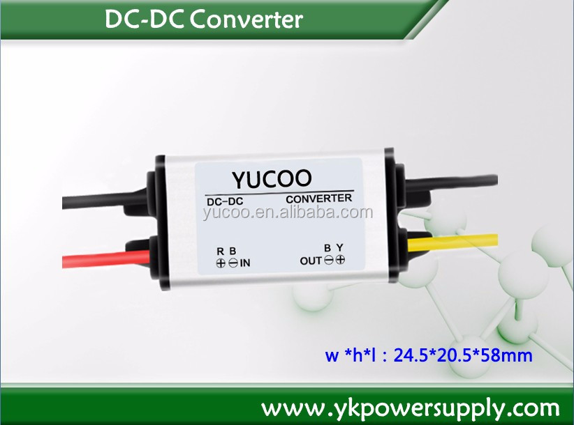 car dc power adapter 12v 24v to 5v small dc dc converter