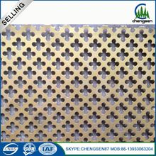 galvanized perforated steel strapping suede fabric metal sheet