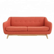 Nordic New Wooden <strong>Furniture</strong> Designs Solid Wooden Base Fabric Sofa For Living Room <strong>Furniture</strong>
