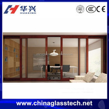 Durable water proof heat resistant insulated glass aluminum profile weather stripping exterior door