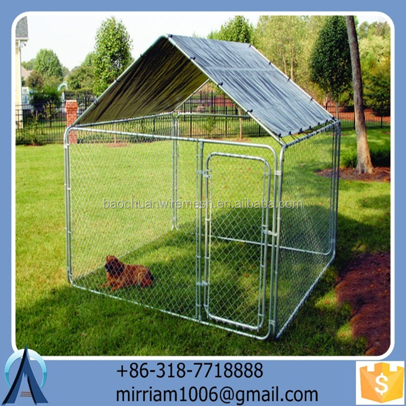 Anping Baochuan BC stocked pet house/ Folding dog carrier/kennel/Strong dog crate/ cage/run