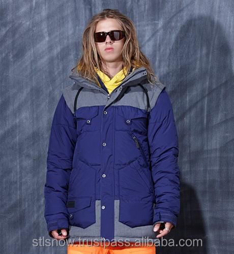 2014/2015 High quality Unisex warm Ski Snowboard jacket, Indi Jacket Purple