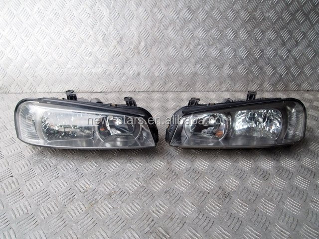 USED JDM Front Headlights Lights OEM for 99-03 Skyline R34 GTR GTT Turbo