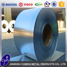 Hot rolled and cold rolled AISI 304 301 201 316L 409L 430 2B stainless steel roll / strip / coil