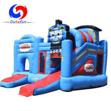 Most popular thomas train inflatable bouncy castle combo for sale
