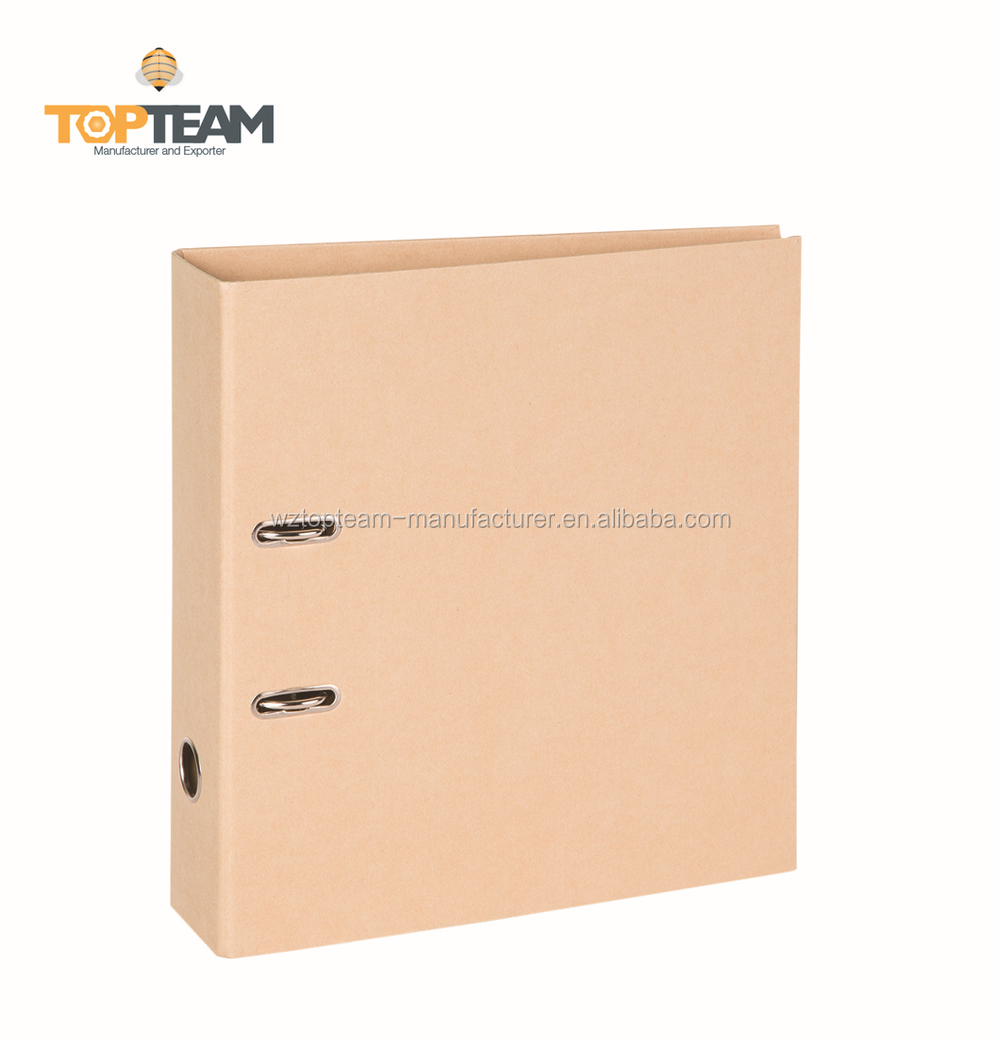 Wholesale China Kraft Paperboard Lever Arch File, Box Lever Arch Files