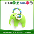 Silicone Teether Animal Pendant for Silicone Elephant Teether Toys with Baby
