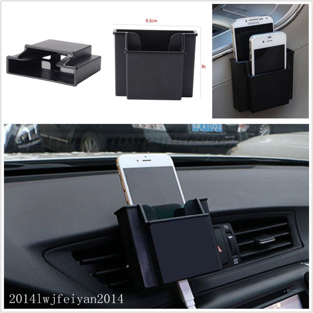 Car Air Outlet Double Deck Phone Charging Storage Bo Holder Organizer