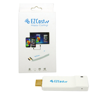 SYTA Ezcast 5G dual band wifi Smart TV Stick Miracast DLNA airplay wireless display dongle with APP