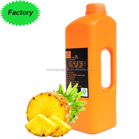 ISO9001 and QS approved Pineapple Fruit Juice Concentrate Delicious juice for sale