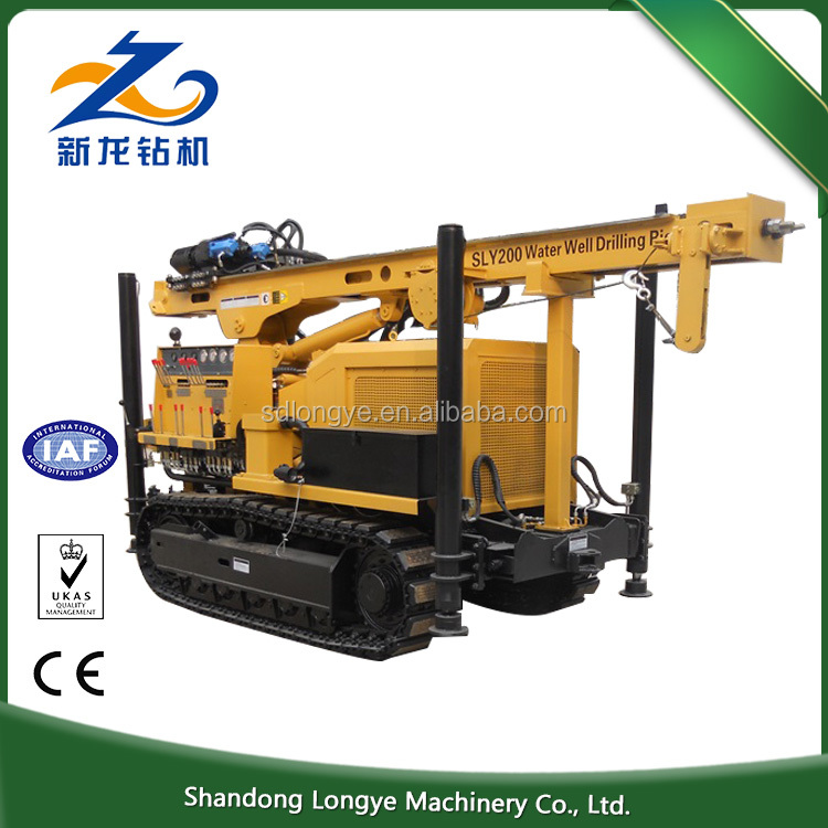 New arrival product 25 degree climb ability mining hydraulic rotary drilling rig