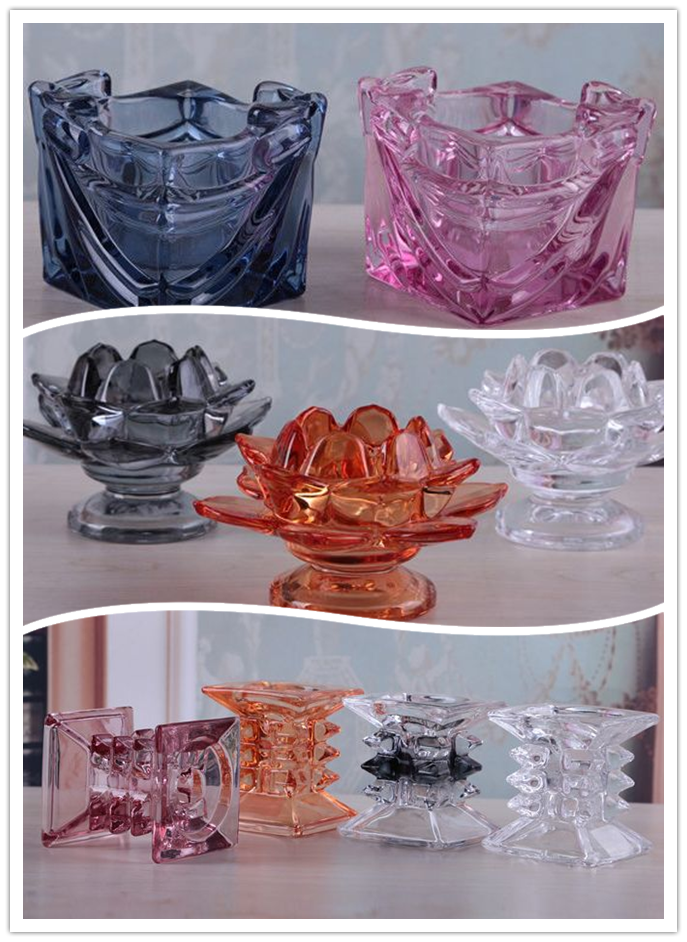 Colored Bird Shaped Glass Tealight Candle Holder Buy