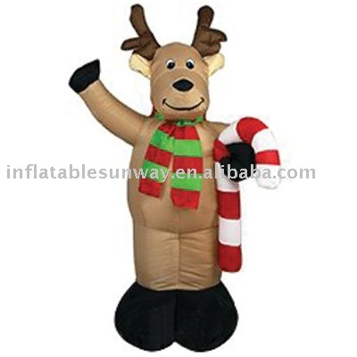 Holiday inflatables/ christmas deer costume