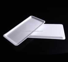 Foaming tray plastic meat tray frozen tray for food with absorbent pad any colors