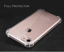 Free Shipping Shockproof Soft TPU Anti Scratch Back Cover Clear <strong>Protective</strong> For iPhone 8 case