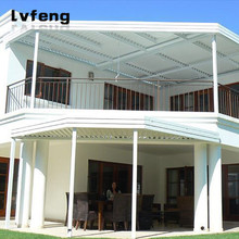 Factory Price Aluminum Pergola Roof Patio Canopy For Balcony