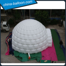 Hot sale inflatable cube tent/Outdoor white inflatable golf model tent for party/ events/display