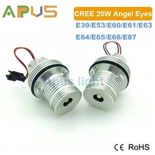 Best quality 2 years warranty XM-L2 chip 20W E39 high power led angel eyes