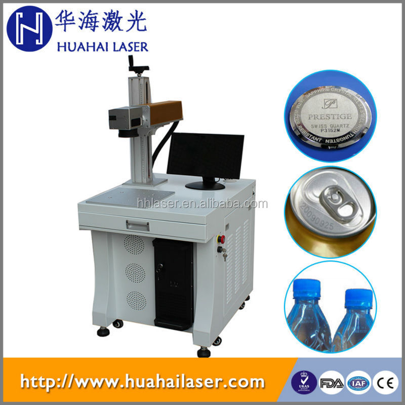 laser expiry date printer for food metal cans and plastic package
