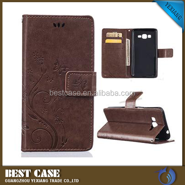 Popular Mobile Phone Flip Leather Cover Case For HTC Velocity 4G