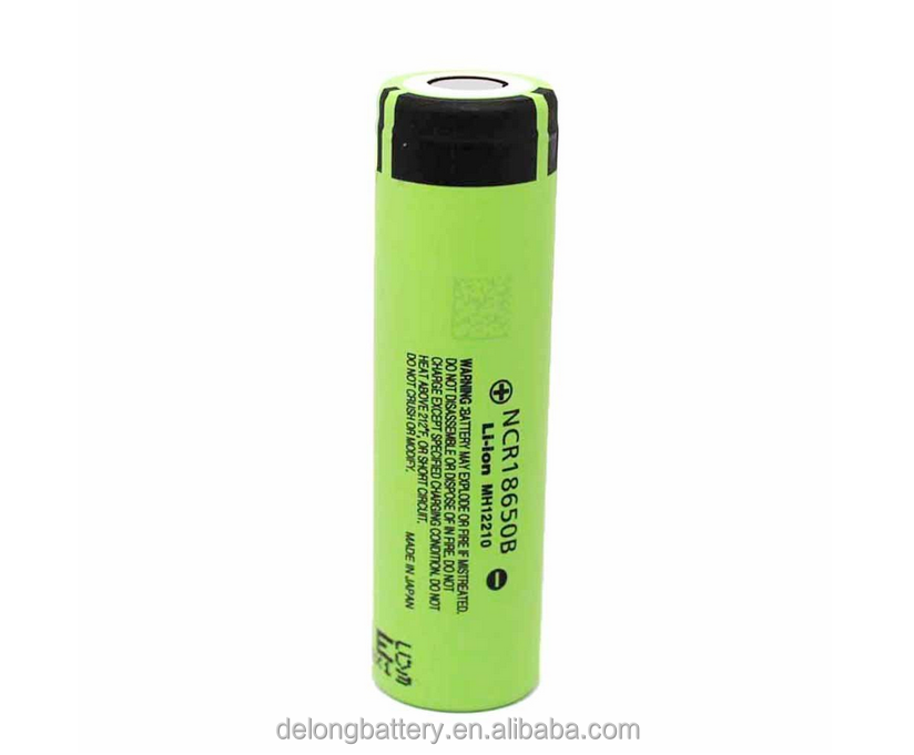 High capacity ncr18650B 3400mah 18650 3.7v rechargeable Li-ion battery,ncr18650b battery cell