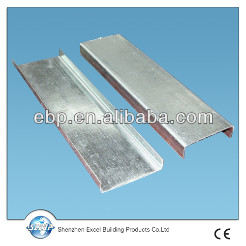 galvanized steel profiles for plasterboard panels