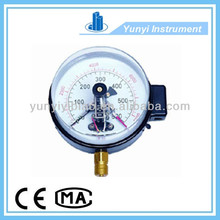 YX series Magnetic electric contacts pressure gauge