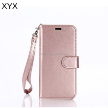 3 Cards Slot Photo frame PU Leather Wallet Case Detachable Flip Case for Samsung Galaxy S8 Plus