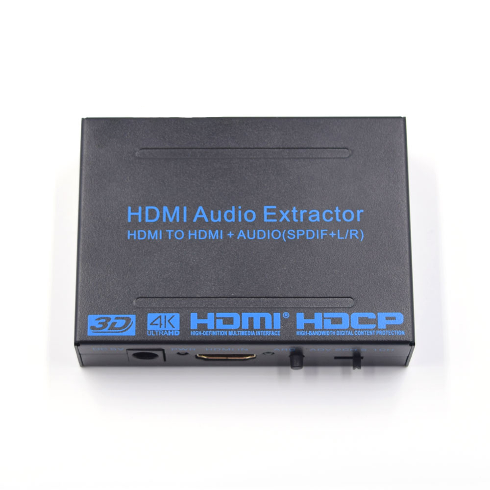 China Manufacturer 4Kx2KHdmi To Hdmi +<strong>r</strong>/l Toslink Coaxial <strong>1080p</strong> Audio Converter