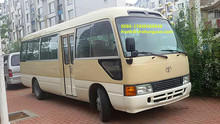 used TOYOTA coaster bus for sale