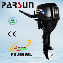 F9.9BWL electric start / tiller control /long shaft 9.9hp 4-stroke outboard motor