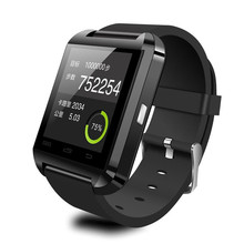 OEM custom logo U8 Smart Watch Phone for IOS android SMS smartwatch phone