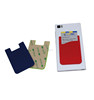 Low cost popular fashion functional customized cell phone card/id card wallet/pocket with 3M sticker
