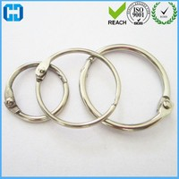 Wholesale Binder Hinged Snap Rings Book Ring Loose Leaf Binder Ring