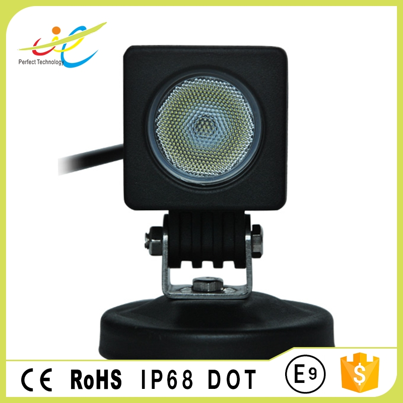 10W 2 inch square LED work light LED headlight car auto accessories led