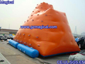 PVC water floating inflatable icberg inflatable water games