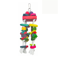 Bird Toys Colorful Wood Jewellery Parrot Toys Factory Produce LB018