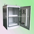 Outdoor telecom equipment enclosure/stainless steel equipment rack with accessory/lockable instrument shelter SK-30