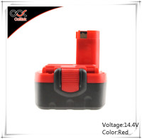 NI-MH rechargeable battery 14.4v 2000mah Replace orginal BOSCH battery 14.4v 2 607 335 711, 2 607 335 712, 2 610 909 013