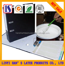 Han's PVAC and White adhesive mainly used to folders/white latex for pvc